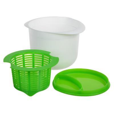 Купить набор для приготовления творога, 17х12 см (полипропилен, силикон)