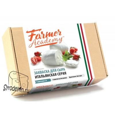 """Термофильная закваска для сыра Farmer Academy """"Итальянская серия"""" на 100 л молока"""
