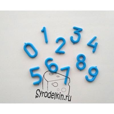 Цифры для маркировки сыра, 10 шт