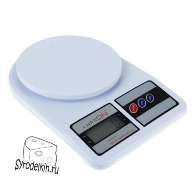 Кухонные весы электронные до 7 кг