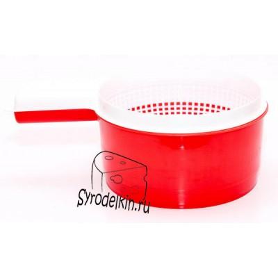 Форма для Адыгейского сыра Сыродельница малая дуршлаг d 20 см