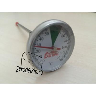 Термометр для молока механический с креплением