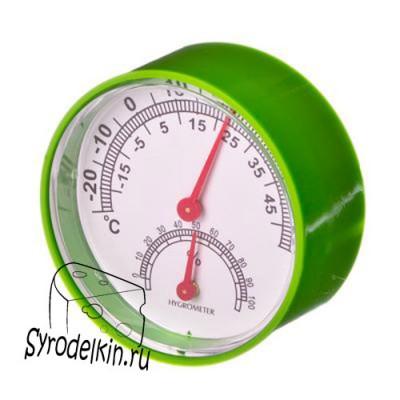 Термометр-гигрометр  механический