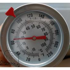 Термометр для молока с щупом 20 см